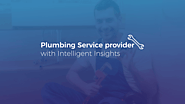 Leveraging Mobile App to Empower Plumbing Service provider with Intelligent Insights | Case Study | AIMDek Technologies