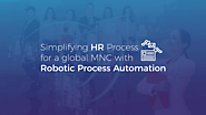 Robotic Process Automation | case study | AIMDek Technologies