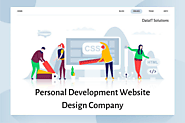Personal Development Website Design Company