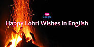 Happy Lohri Wishes in English - Google SMS