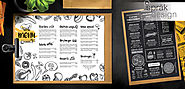 Food Menu Design - Coffee Shop & Restaurant Menu Design by Top Designers
