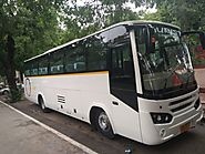 45 seater bus on rent in Delhi | Noida | Ghaziabad | 45 Seater A/C Bus hire