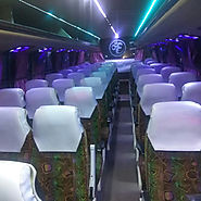 50 seater bus on rent in Delhi | Noida | Ghaziabad | 50 seater bus hire | Trips
