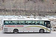 Delhi To Manali Sleeper AC Volvo Bus Tickets Booking Rate - INR 800*PP