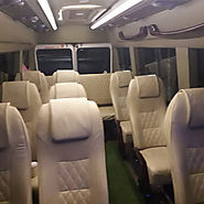 Luxury 09 Seater Tempo Traveller For Rent In Delhi | Noida | Ghaziabad