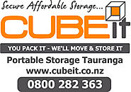 Container Self Storage Tauranga | Cube It