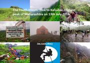 The Youth Hikers: Trek to Kalsubai, Highest peak of Maharashtra on 13th July 2014 (Sunday).