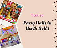 Top 10 best party halls near north delhi - Party Halls in North Delhi : powered by Doodlekit