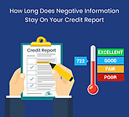How Long Does Negative Information Stay On Your Credit Report