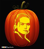 Rey Pumpkin Carving Stencil