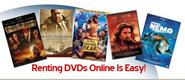 Renting DVDs Online - Guide to DVD Rental Services to Rent DVDs Online