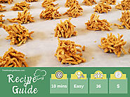 Amazingly Easy 2 Ingredient No-Bake Butterscotch Haystacks