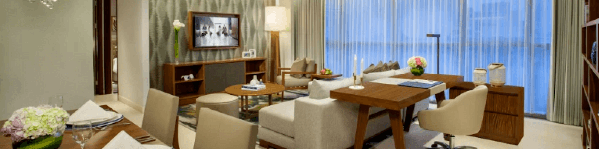 Headline for Apartment Types at Ascott Sudirman Jakarta