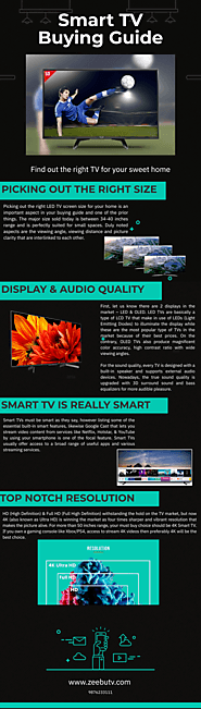 Smart TV Buying Guide Tips