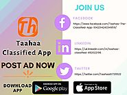 Taahaa Classified App UK