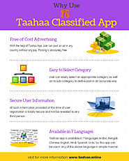 Why Use Taahaa Classified App