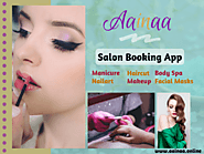Salon Booking App-Aainaa