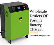 Wholesale Dealers of Forklift Battery Charger