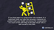 • If you have been in a construction site accident, it is important that you take the necessary measures to protect b...