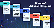 History of Artificial Intelligence - AI of the past, present and the future! - DataFlair