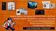 Samsung Microwave oven service center in Hyderabad - Samsung Service Center In Hyderabad To Secunderabad Call:9390110...