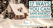 17 Ways You Can Save Energy During The Winter