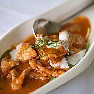 Gaeng Hung Lay (pork curry with ginger)