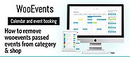 How to remove Wooevents passed events from category & shop pages - Sensod - Create. Connect. Brand.
