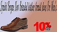 xclusiveoffer Symbol Brogue New Branded leather formal shoes For Men's.