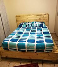 10 Easy DIY Wooden Pallets Bed Frame Ideas For Home - Sensod - Create. Connect. Brand.