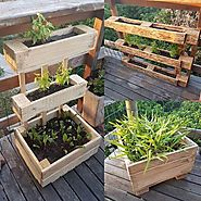 10 Amazing And Easiest Pallet Planter Boxes - Sensod - Create. Connect. Brand.