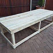 Top 14 Modish And Beautiful Pallet Tables - Sensod - Create. Connect. Brand.