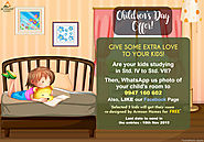Celebrate this Childrens Day with Armson Homes!