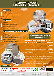 Renovate your individual rooms at lowest prices!!