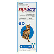 Bravecto Spot On For Medium Cats (2.8 - 6.25 kg) Blue