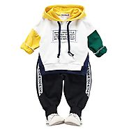 Children Clothing Autumn Winter Toddler Boys Clothes Outfit Kids Clothes Girls Sport Suit For Girls Clothing Sets 1 2...