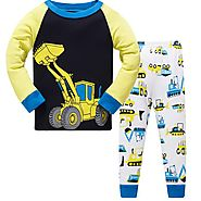Baby Clothing set Cartoon Cars Boy Pyjamas Suits Autumn Winter Night Suit Cotton Children's Pajamas Sleepwear