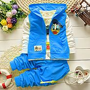 Donald Duck Baby Boys Outerwear Hoodie Jacket