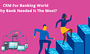 CRM For Banking World – Why Bank Needed it the Most?