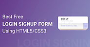 13+ Best Free Login Sign Up Forms Using HTML5 CSS3 Download