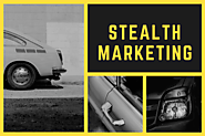 Guerrilla Marketing series: Stealth Marketing Strategies and Technique With Examples