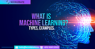What is Machine Learning? Types, Examples | Xccelerate