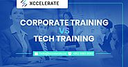 Corporate Training vs Tech Training | Xccelerate