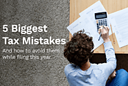 5 Common Mistakes You Dont Want to Make this Tax Season