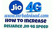 how to increase jio speed [ Step by Step ] 2020
