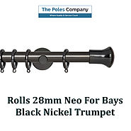 Shop Now! Rolls 28mm Neo For Bays Black Nickel Trumpet at Best Price