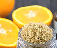 Refreshing Orange Sugar Scrub For Dark Spots | FASHION GOALZ