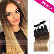 Try 28 inch hair extensions, why not?