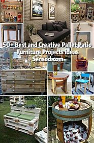 50+ Best and Creative Pallet Patio Furniture Projects ideas - Sensod - Create. Connect. Brand.