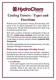 Cooling Towers - Types and Functions